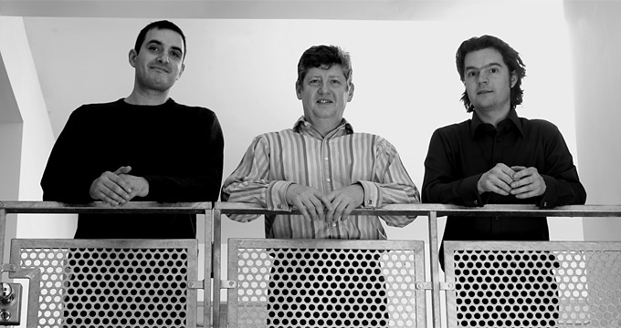 Image: Graham Newsome, Director (middle) | Salvatore Poerio, Associate (left) | Lee Pickering, Architect (right)